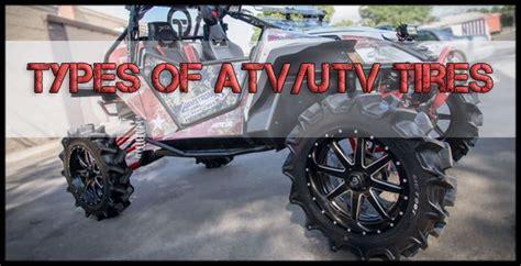 Explore The Different Types Of Atv/utv Tires • Otr Wheel