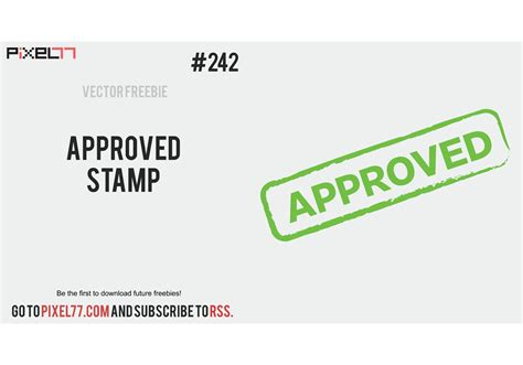 vector   day  approved stamp