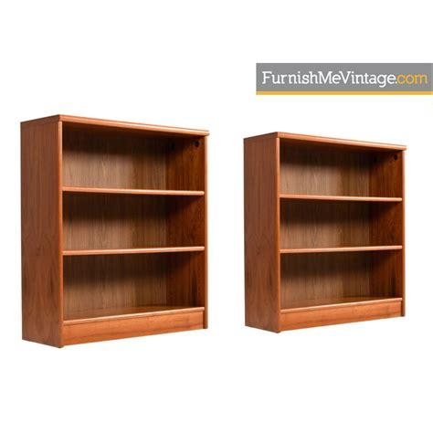 danish teak bookcases scandinavian modern