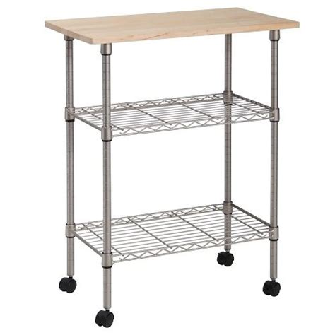 kitchen island rolling cart 3 tier portable rolling kitchen island cart cutting board table home office work ebay