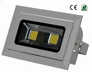 W led ceiling flood light with bridgelux meanwell driver