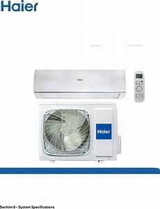 Haier Aw09eh2vha User Manual Air Handler  Indoor Blower