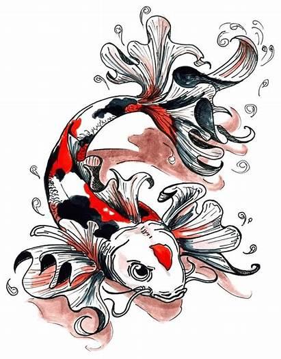 Tattoos Designs Koi Fish Inspirationseek