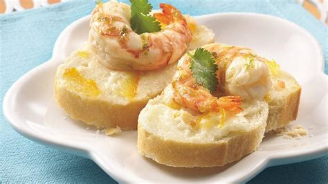 shrimp canapes recipes citrus marinated shrimp canapés recipe from pillsbury com