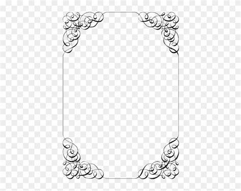 fancy wedding border png transparent images invitation