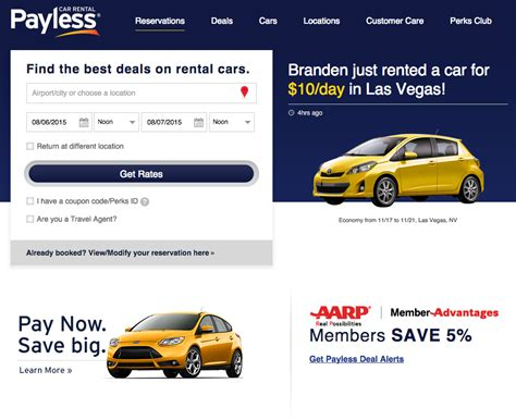 Top 966 Complaints And Reviews About Payless Car Rental