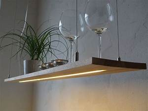 Led Lampen Küche : h ngelampe buche regallampe h ngeregal led licht von peka ideen auf wohnen ~ Frokenaadalensverden.com Haus und Dekorationen