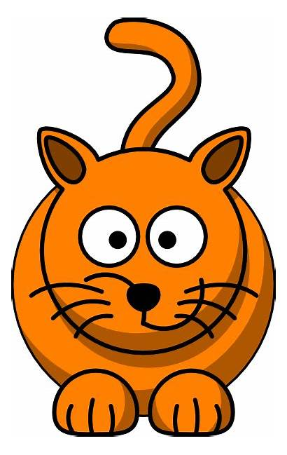 Cat Clipart Funny Clip Cliparts Silly Clker