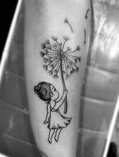 150 Most Enticing Dandelion Tattoos And Their Meanings cool Check more at https