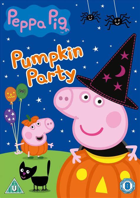 Peppa Pig Pumpkin Party Dvd Zavvicom