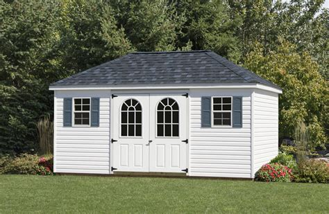 Hipped Roof by Hip Roof Storage Shed Backyard Storage Sheds Hip Roof