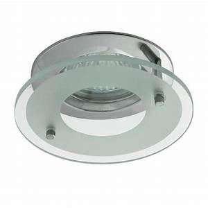 Cloche De Protection Pour Spot Encastrable : spot encastrable 12v gu5 3 chrome et protection verre ~ Dailycaller-alerts.com Idées de Décoration