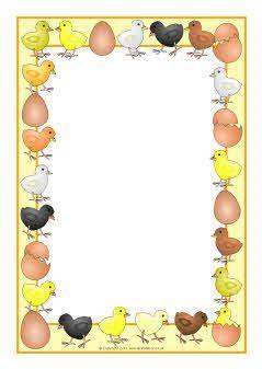 chicks  eggs  page borders sb sparklebox