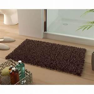 becquet tapis de bain coton longues meches 1500g m2 With becquet tapis de bain
