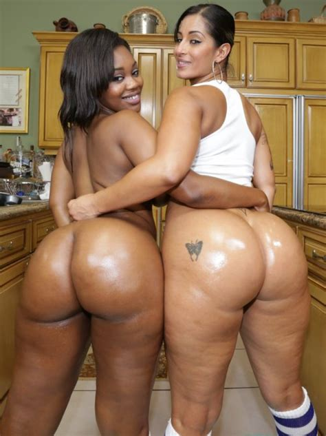 Two Ebony Pornstars With Two Fat Asses Porn Pic Eporner