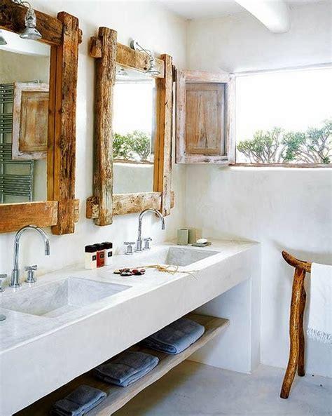 Moderne Holzeinrichtung Fuers Badrustic Mirror Towel Rack Bathroom Ideas Cabinet Design Tile Furniture Decor Bathtub Shower Washbasin Vanities Decorating Luxury Modern by Moderne Holzeinrichtung F 252 Rs Bad Freshouse