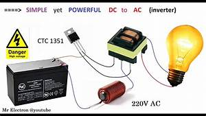 Simple Inverter 12v Dc To 220v Ac