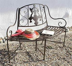 Gartenbank Metall 2 Sitzer : bank jd130838 aus metall gartenbank sitzbank baumbank 2 sitzer 116 cm rundbank ebay ~ Indierocktalk.com Haus und Dekorationen