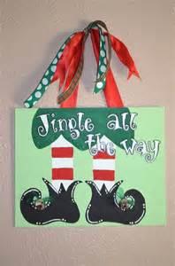 christmas canvas by littleticklebug on etsy 20 00 christmas creativity pinterest