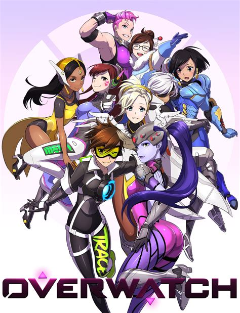 Overwatch Wallpaper Anime - image result for overwatch anime wallpaper pink