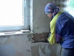 Klebeband Von Wand Entfernen : schlafzimmer aussenwand putz entfernen youtube ~ Frokenaadalensverden.com Haus und Dekorationen