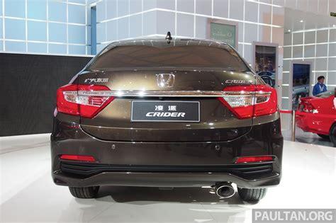 Shanghai 2018 Honda Crider Production Car Debuts Image 170530