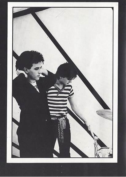 Cure 1981 Tour Gallup Simon Introduction