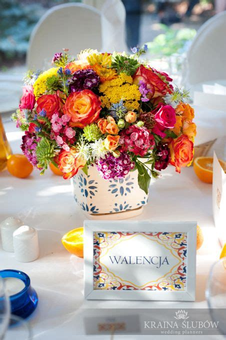 Wedding Centerpiece Spanish Wedding Theme Fot Paulina