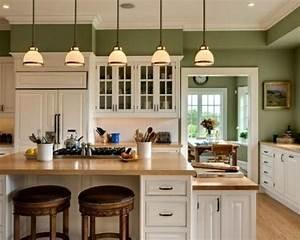 15+ Green Kitchen Cabinets Design, Photos, Ideas