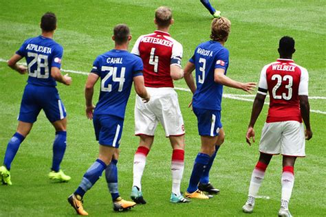 Arsenal 1 Chelsea 1 (4-1 on pens) | Community Shield at ...
