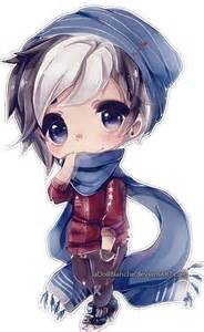 Cute Anime Chibi Boy