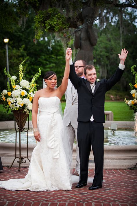 real new orleans outdoor garden wedding