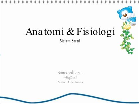 Power Point Anatomi & Fisiologi (sistem Saraf