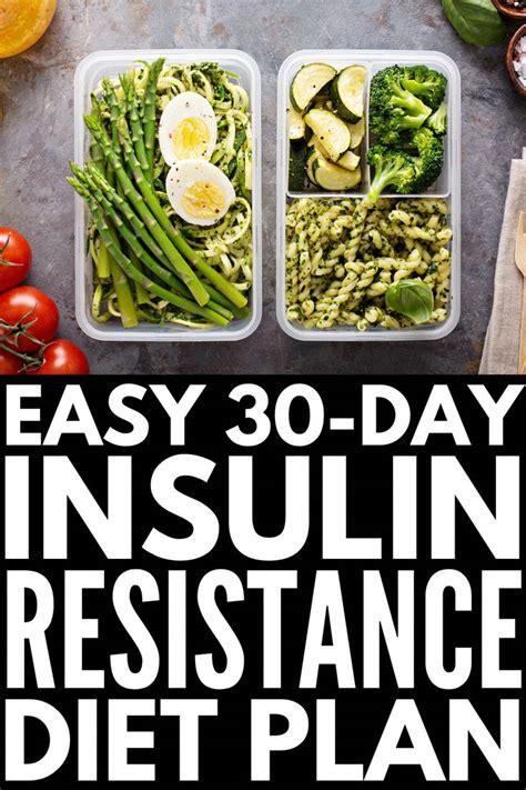 day insulin resistance diet plan  youre