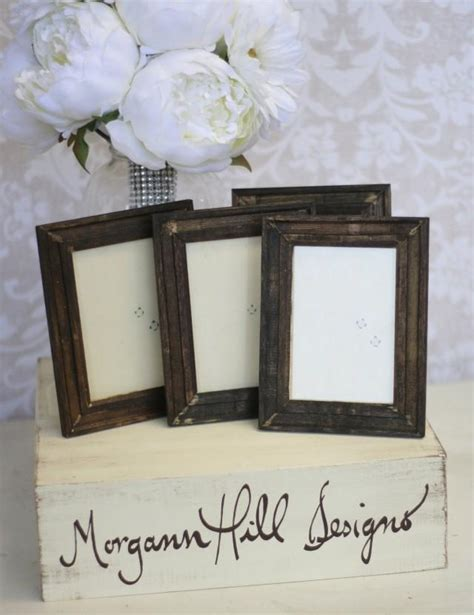 shabby chic table numbers rustic wedding frames table number signs shabby chic decor