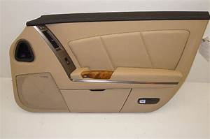 2009 Cadillac Xlr Door Panel Tan Rh Passenger Side 25892721