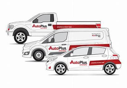 Branding Plus Vehicle Business Marketing Representing Provide