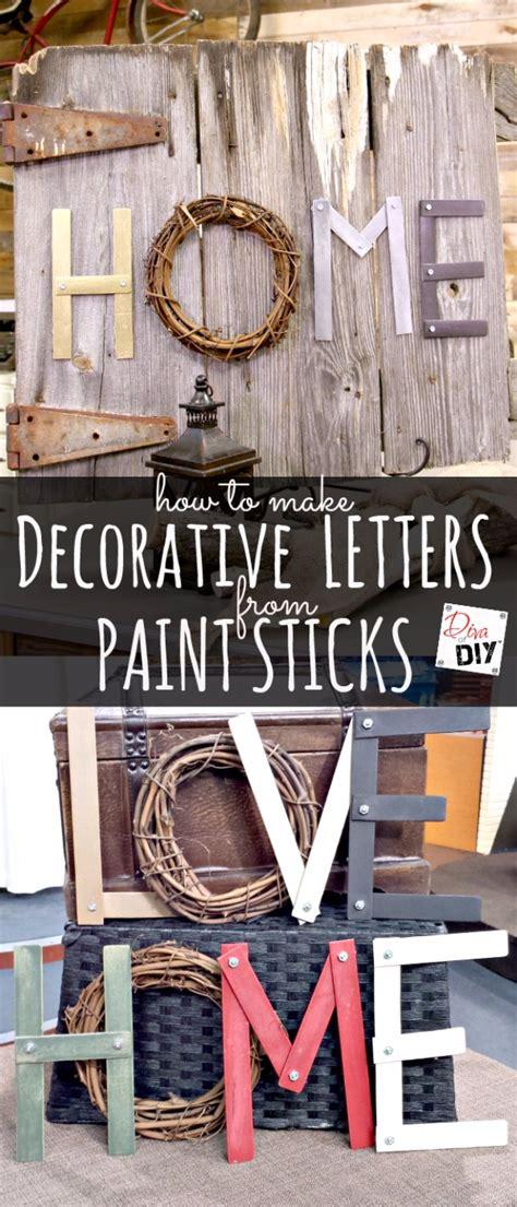 diy paint stick projects