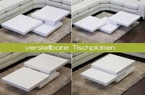 Couchtisch Weiß Klein : couchtisch cube hochglanz lack weiss loungetisch ~ Watch28wear.com Haus und Dekorationen