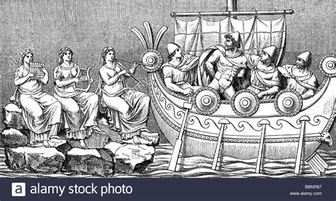 Odysseus Ulysses Greek King Of Ithaca And Hero Passing