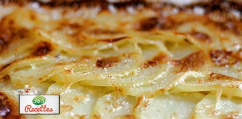 recette rapide du gratin dauphinois aux pommes de terre au