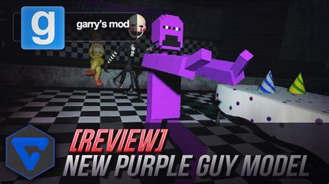 purple guy gmod five nights freddy morado minigame hombre