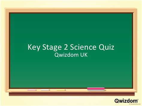 Key Stage 2 Science Quiz