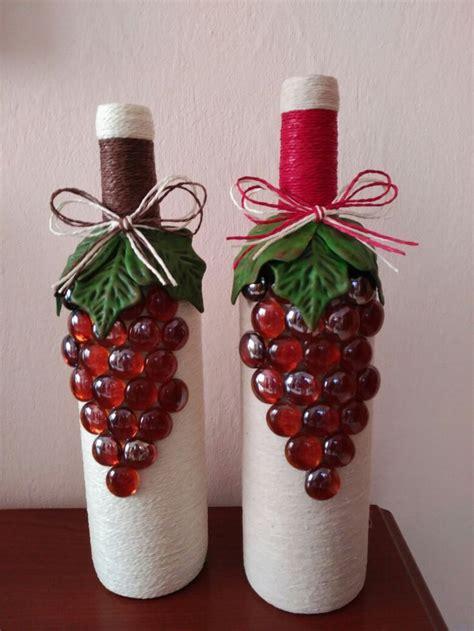 m 225 s de 25 ideas 250 nicas sobre botellas decoradas navide 241 as en navidad botellas
