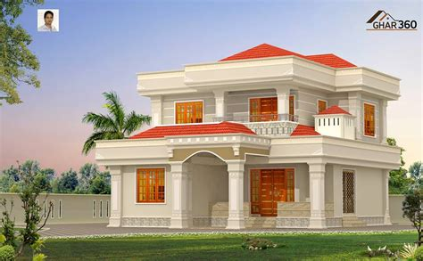 beautiful  modern style villa  calicut india