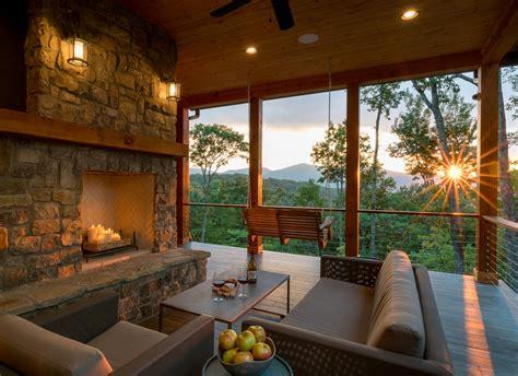 mountain craftsman meets modern modern home  waynesville north  dwell