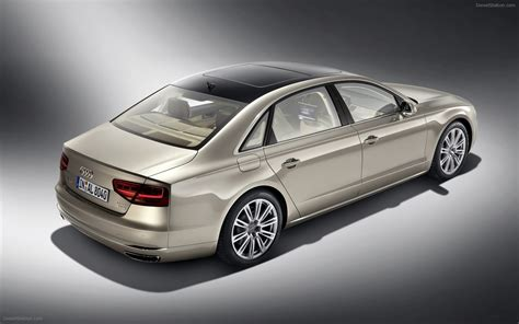 Audi A8 L W12 2018 Widescreen Exotic Car Pictures 06 Of