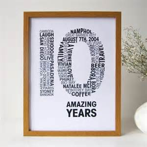 tenth wedding anniversary personalised anniversary print by mrs l cards notonthehighstreet