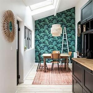 revgercom deco papier peint pour salle a manger idee With papier peint salle a manger salon