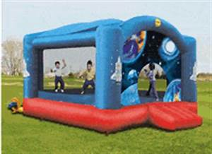 Bouncy Castle Duplay Castles Space Station Bouncer UK Bouncers